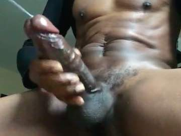 Big Black Cock Cumshot Cam